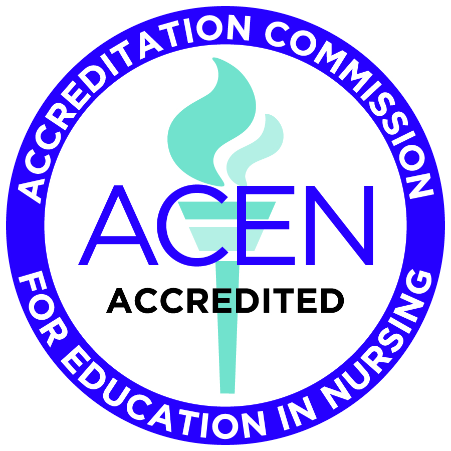 ACEN seal for accreditation